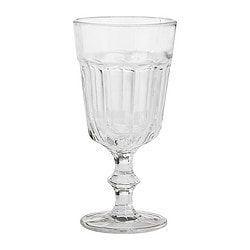 "POKAL wine glass, clear glass Height: 6 "" Volume: 7 oz Height: 16 cm Volume: 20 cl"
