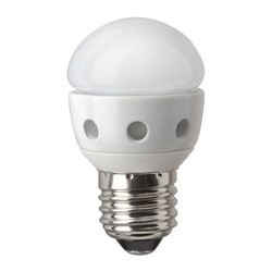 LEDARE LED bulb E27, globe opal white Luminous flux: 200 lm Power: 4.3 W
