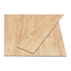 TUNDRA laminated flooring, maple effect Length: 138 cm Width: 19.0 cm Plank thickness: 7 mm