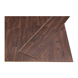 PRÄRIE laminated flooring, chestnut effect Length: 138 cm Width: 19.0 cm Plank thickness: 7 mm