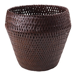 "PARANÖT plant pot, brown Outside diameter: 12 ½ "" Max. diameter inner pot: 9 ½ "" Height: 11 ¾ "" Outside diameter: 32 cm Max. diameter inner pot: 24 cm Height: 30 cm"
