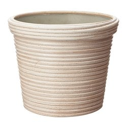 PEKANNÖT plant pot, rattan Outside diameter: 14 cm Max. diameter flowerpot: 12 cm Height: 12 cm