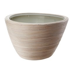 PEKANNÖT plant pot, rattan Outside diameter: 51 cm Max. diameter flowerpot: 32 cm Height: 33 cm
