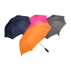 "UPPTÄCKA umbrella, assorted colors Length: 31 ½ "" Diameter: 35 ½ "" Length: 80 cm Diameter: 90 cm"