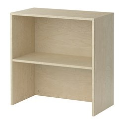 GALANT add-on unit, birch veneer Width: 80 cm Depth: 40 cm Height: 80 cm