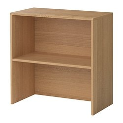 GALANT add-on unit, oak veneer Width: 80 cm Depth: 40 cm Height: 80 cm