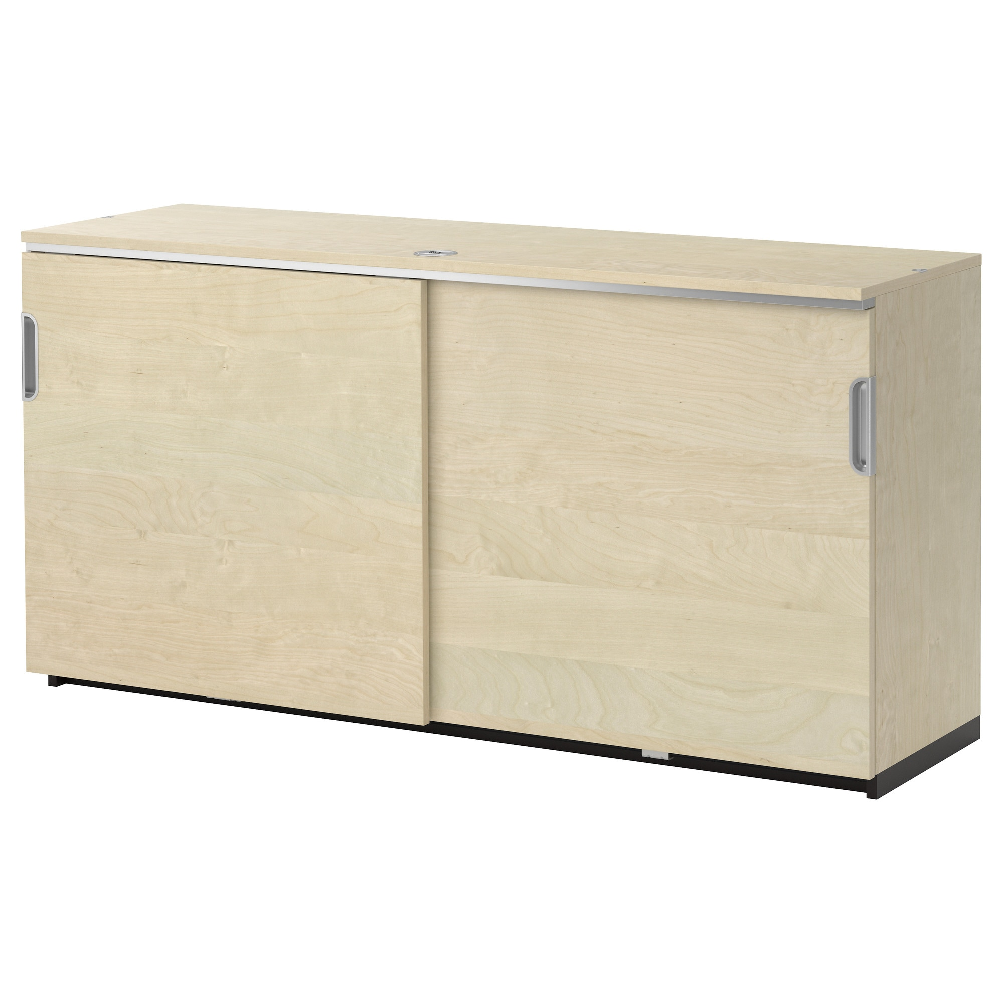 GALANT Cabinet With Sliding Doors   Birch Veneer   IKEA