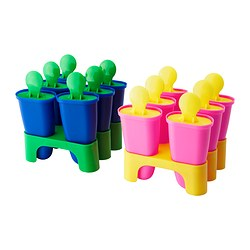 CHOSIGT ice lolly maker, assorted colours Height: 10 cm