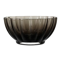 VÅRLIKT bowl, dark grey Diameter: 17 cm Height: 8.5 cm