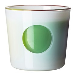 JUBEL self-watering plant pot, white Outside diameter: 16 cm Max. diameter flowerpot: 12 cm Height: 14 cm