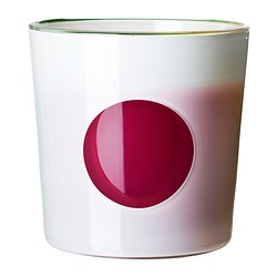 JUBEL self-watering plant pot, white Outside diameter: 20 cm Max. diameter flowerpot: 17 cm Height: 20 cm