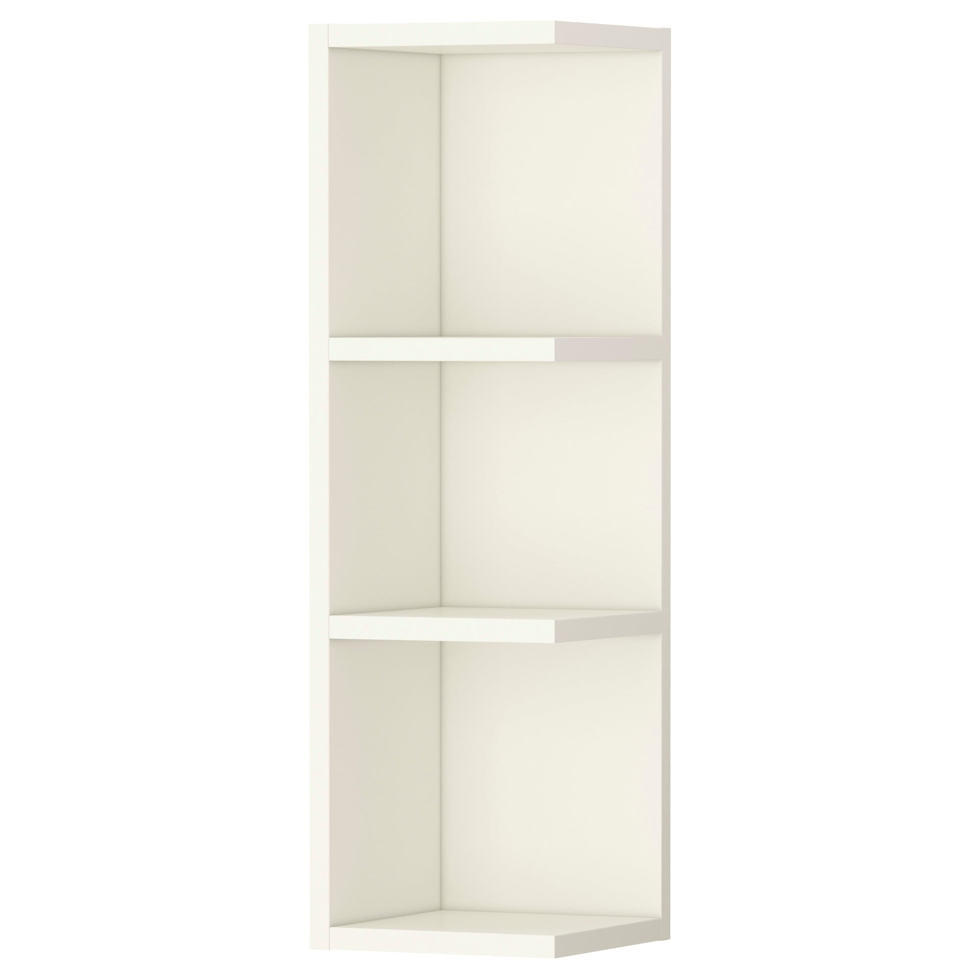 lillÅngen end unit  white  ikea -