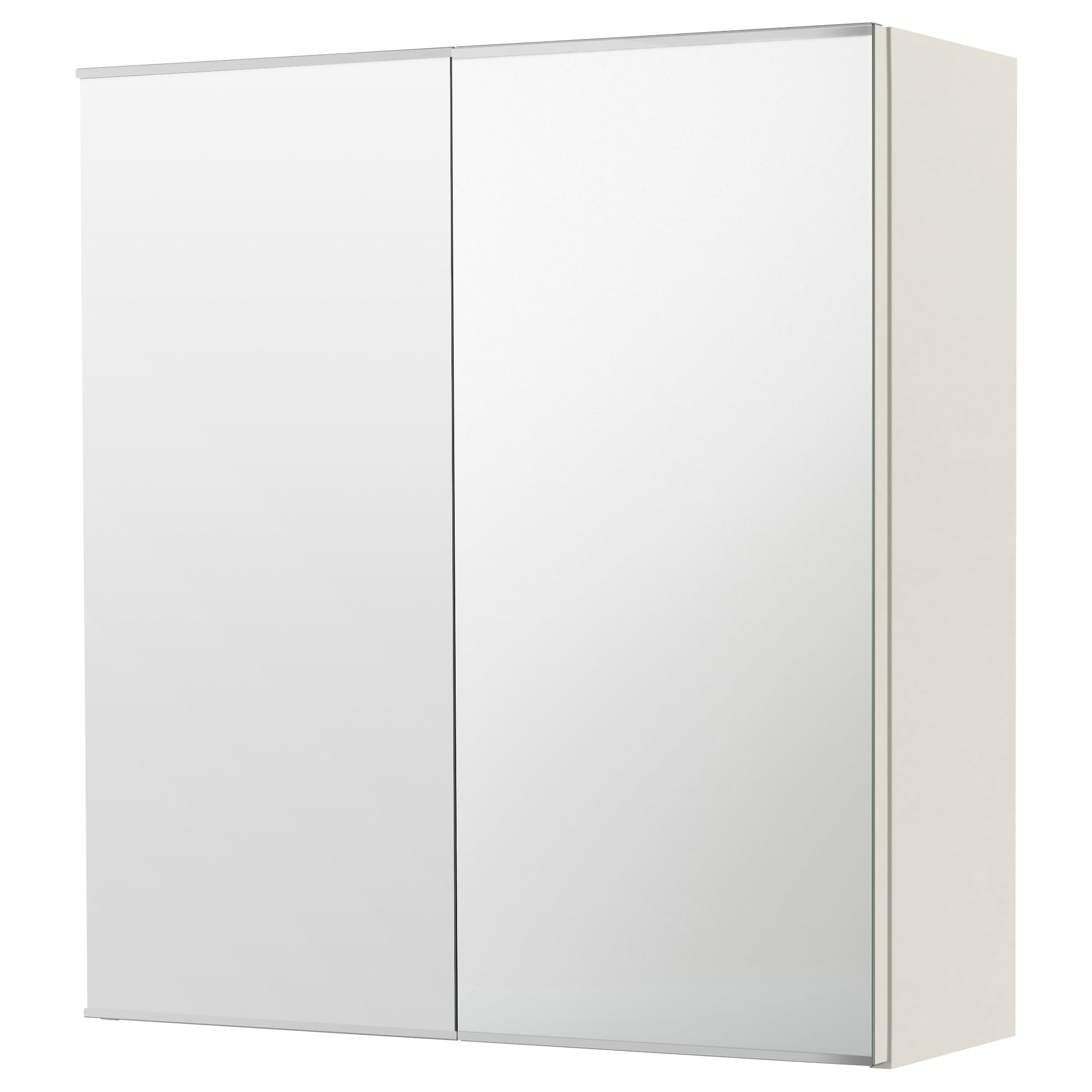 Bathroom mirror cabinet - Lill Ngen Mirror Cabinet With 2 Doors White Width 23 5 8 Depth
