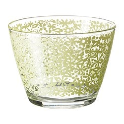 GODTA bowl, green Diameter: 11 cm Height: 8 cm