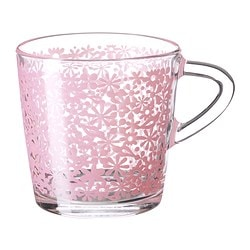 "GODTA mug, lilac Height: 3 "" Volume: 7 oz Height: 8 cm Volume: 21 cl"