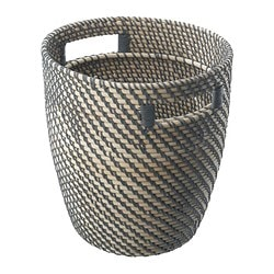 "RÅGKORN plant pot, rattan Outside diameter: 11 "" Max. diameter inner pot: 9 ½ "" Height: 12 ¼ "" Outside diameter: 28 cm Max. diameter inner pot: 24 cm Height: 31 cm"