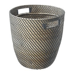 "RÅGKORN plant pot, rattan Outside diameter: 14 ½ "" Max. diameter inner pot: 12 ½ "" Height: 15 ¼ "" Outside diameter: 37 cm Max. diameter inner pot: 32 cm Height: 39 cm"