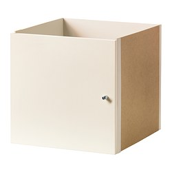 EXPEDIT insert with door, white Width: 33 cm Depth: 37 cm Height: 33 cm