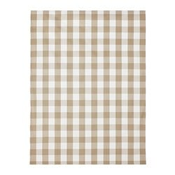 "BERTA RUTA fabric, beige, large check Weigth.: 0.72 oz/sq ft Width: 59 "" Pattern repeat: 6 "" Weigth.: 220 g/m² Width: 150 cm Pattern repeat: 16 cm"