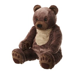VANDRING BJÖRN soft toy Length: 70 cm