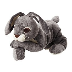 "VANDRING HARE soft toy Length: 15 ¾ "" Length: 40 cm"