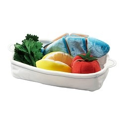DUKTIG 8-piece salmon set € 8.25
