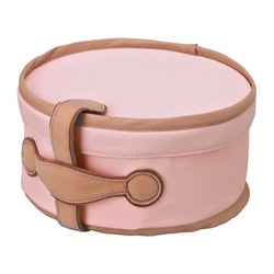 PYSSLINGAR storage case, pink Diameter: 21 cm Height: 10 cm