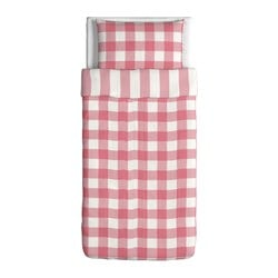 EMMIE RUTA Duvet cover and pillowcase(s) $29.99