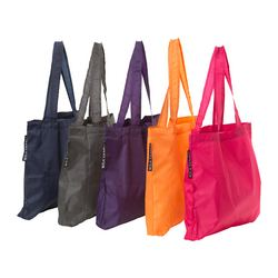 UPPTÄCKA tote bag, assorted colours Width: 42 cm Height: 46 cm Volume: 17 l