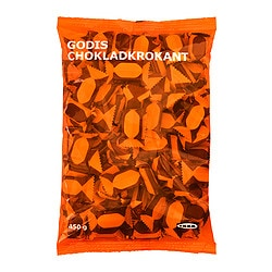 GODIS CHOKLADKROKANT milk chocolate with butterscotch Net weight: 450 g