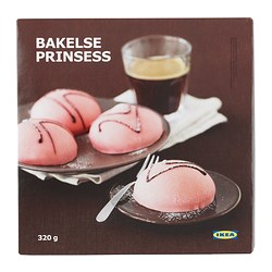 BAKELSE PRINSESS cream cake with marzipan Net weight: 320 g