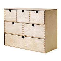 MOPPE Mini Storage Chest, Birch Plywood