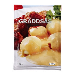 GRÄDDSÅS cream sauce Net weight: 36 g