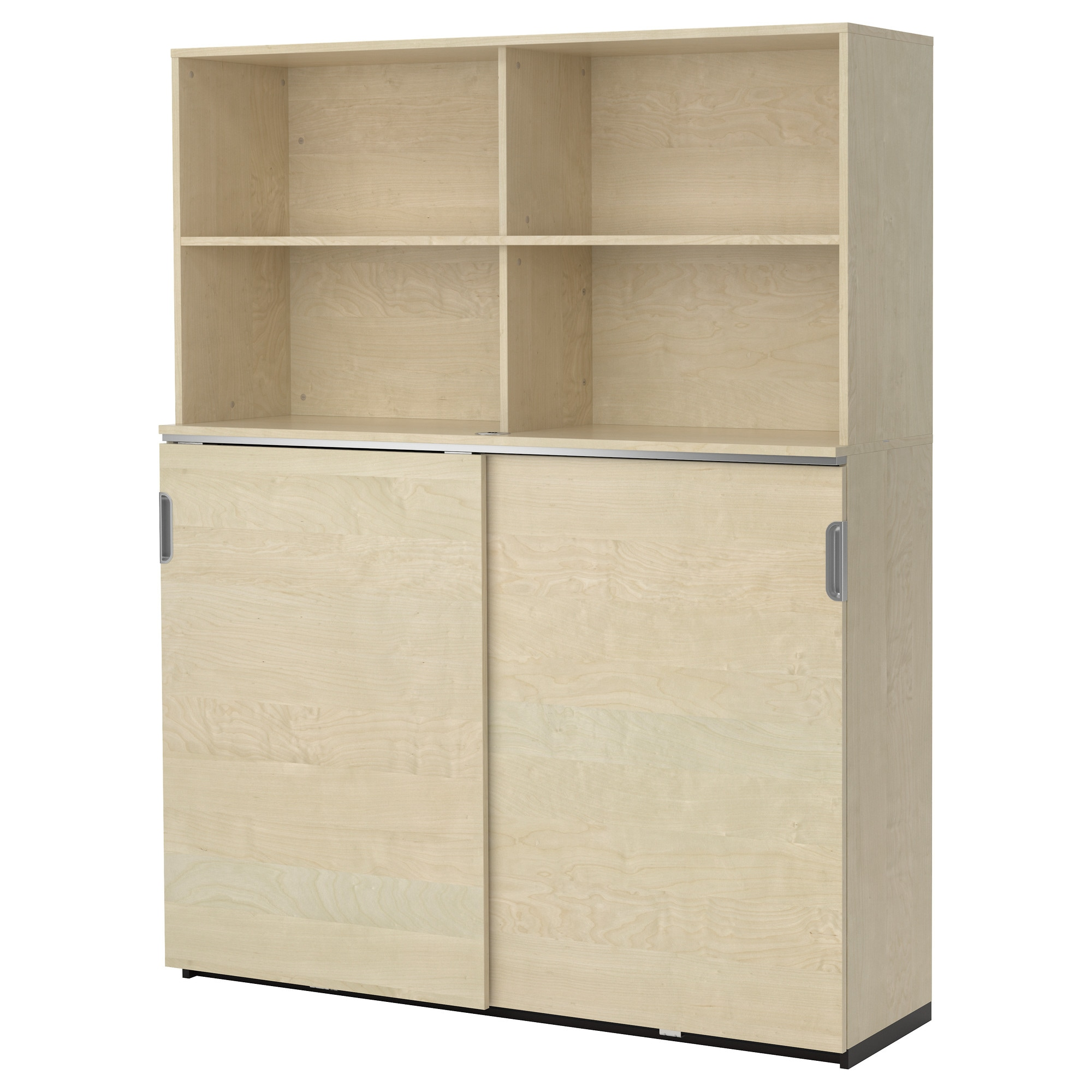 galant storage combination w sliding doors - white - ikea