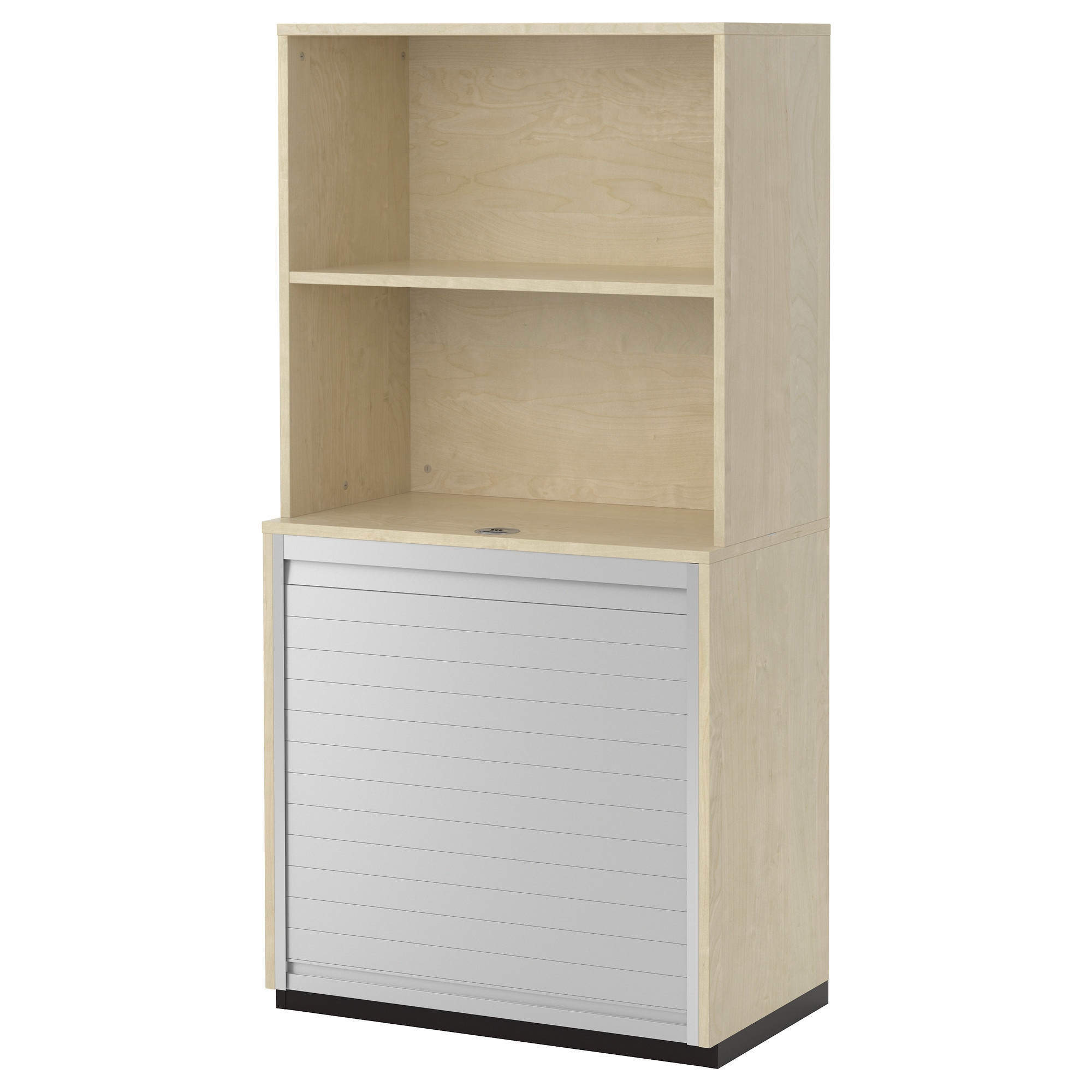 GALANT Storage Combination With Roll Front, Birch Veneer Width: 31 1/2