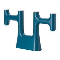 IKEA PS 2012 candlestick, blue Height: 21 cm