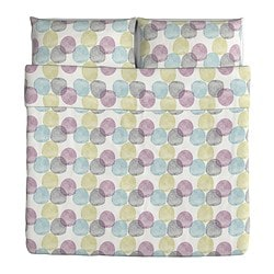 MALIN RUND Duvet cover and pillowcase(s) $39.99