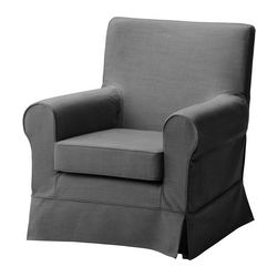 EKTORP JENNYLUND chair cover, Svanby gray