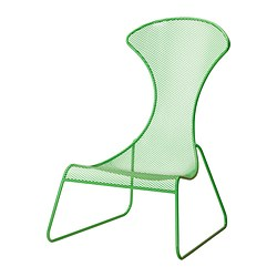 IKEA PS 2012 easy chair, green Width: 75 cm Depth: 84 cm Height: 112 cm