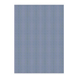 BERTA RUTA fabric, dark blue, medium check Width: 150 cm Pattern repeat: 3 cm