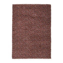 "ÖRSTED rug, high pile, multicolor Length: 7 ' 10 "" Width: 5 ' 7 "" Surface density: 13 oz/sq ft Length: 240 cm Width: 170 cm Surface density: 3840 g/m²"