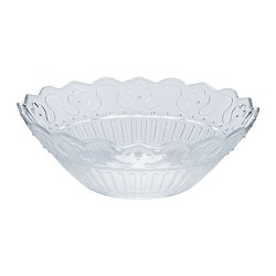 FRODIG bowl, clear glass Diameter: 17 cm Height: 5 cm