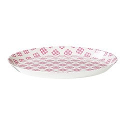 TROLSK plate, patterned Diameter: 28 cm
