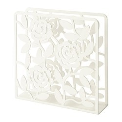 LIKSIDIG, Napkin holder, white