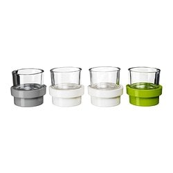 VISKA tealight holder, set of 8