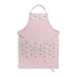 EVALILL apron, rose Length: 97 cm