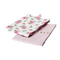 EVALILL tea towel, rose Length: 70 cm Width: 50 cm Package quantity: 2 pack