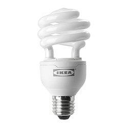 SPARSAM low-energy bulb E26, spiral Power: 20 W Power: 20 W