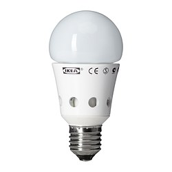 LEDARE LED bulb E27, globe opal white Luminous flux: 400 lm Power: 8.1 W