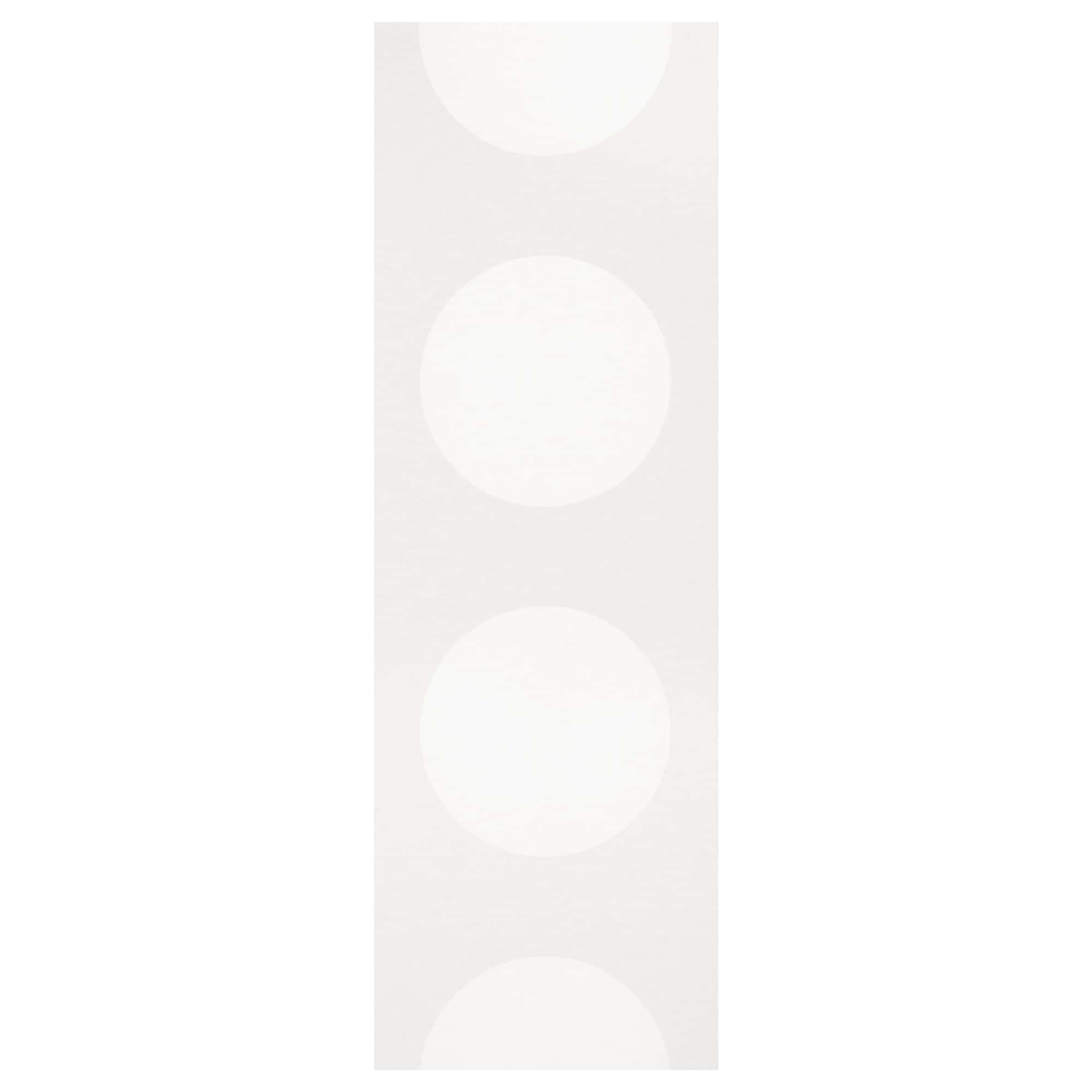 Ikea white curtains with red pattern - Semine Panel Curtain White Length 118 Width 24 Weight 4